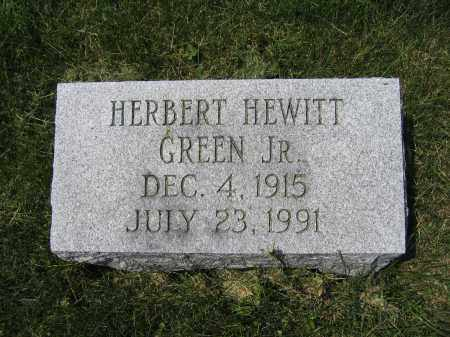 GREEN, JR., HERBERT HEWITT - Union County, Ohio | HERBERT HEWITT GREEN, JR. - Ohio Gravestone Photos