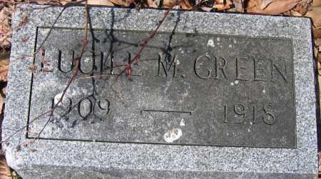 GREEN, LUCILE M. - Union County, Ohio | LUCILE M. GREEN - Ohio Gravestone Photos