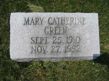 GREEN, MARY CATHERINE - Union County, Ohio | MARY CATHERINE GREEN - Ohio Gravestone Photos