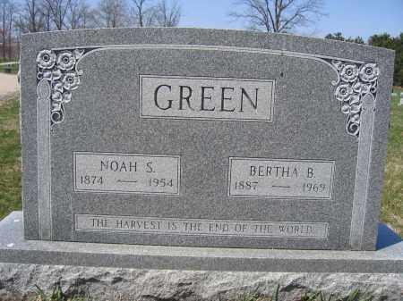 GREEN, NOAH S. - Union County, Ohio | NOAH S. GREEN - Ohio Gravestone Photos