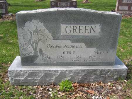 GREEN, OLEN E. - Union County, Ohio | OLEN E. GREEN - Ohio Gravestone Photos