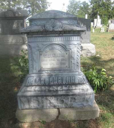 GREENBAUM, ANNA W. - Union County, Ohio | ANNA W. GREENBAUM - Ohio Gravestone Photos