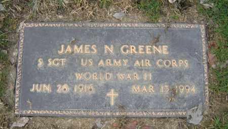GREENE, JAMES N. - Union County, Ohio | JAMES N. GREENE - Ohio Gravestone Photos