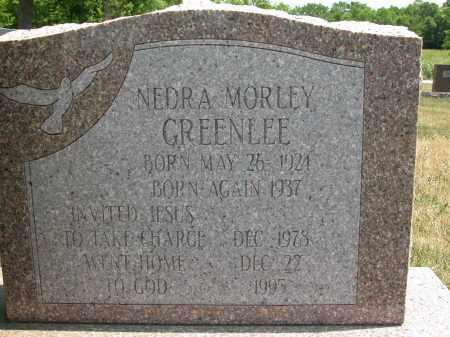 GREENLEE, NEDRA MORLEY - Union County, Ohio | NEDRA MORLEY GREENLEE - Ohio Gravestone Photos