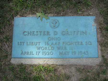 GRIFFIN, CHESTER D. - Union County, Ohio | CHESTER D. GRIFFIN - Ohio Gravestone Photos