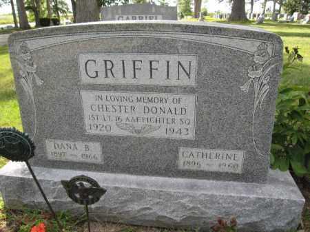 GRIFFIN, CATHERINE - Union County, Ohio | CATHERINE GRIFFIN - Ohio Gravestone Photos