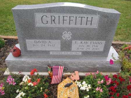 GRIFFITH, ETHEL KAY EVANS - Union County, Ohio | ETHEL KAY EVANS GRIFFITH - Ohio Gravestone Photos