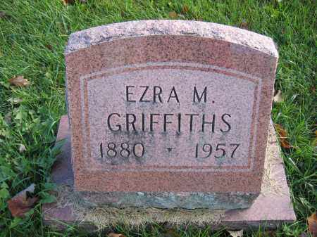 GRIFFITHS, EZRA M. - Union County, Ohio | EZRA M. GRIFFITHS - Ohio Gravestone Photos
