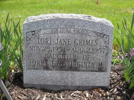 GRIMES, LORI JANE - Union County, Ohio | LORI JANE GRIMES - Ohio Gravestone Photos