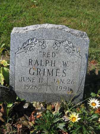 GRIMES, RALPH W. - Union County, Ohio | RALPH W. GRIMES - Ohio Gravestone Photos