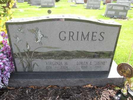 GRIMES, VIRGINIA M. - Union County, Ohio | VIRGINIA M. GRIMES - Ohio Gravestone Photos