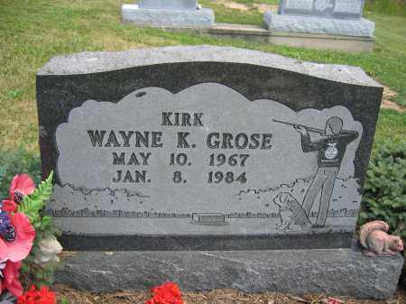 GROSE, WAYNE K. - Union County, Ohio | WAYNE K. GROSE - Ohio Gravestone Photos