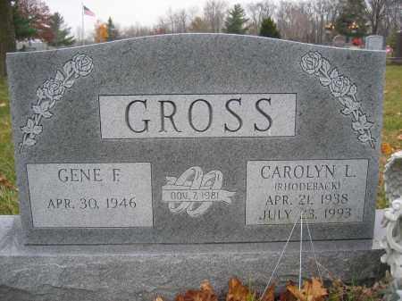 GROSS, CAROLYN L. - Union County, Ohio   CAROLYN L. GROSS - Ohio Gravestone Photos