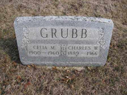 GRUBB, CELIA M. - Union County, Ohio   CELIA M. GRUBB - Ohio Gravestone Photos