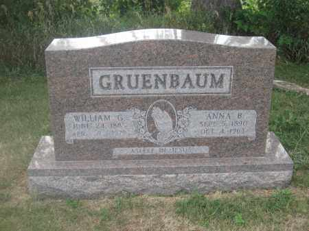 GRUENBAUM, ANNA B. - Union County, Ohio | ANNA B. GRUENBAUM - Ohio Gravestone Photos