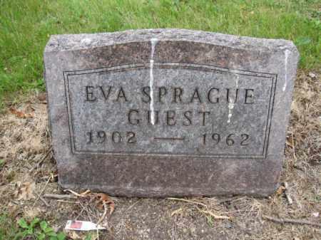 GUEST, EVA SPRAGUE - Union County, Ohio   EVA SPRAGUE GUEST - Ohio Gravestone Photos
