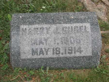 GUGEL, HARRY J. - Union County, Ohio | HARRY J. GUGEL - Ohio Gravestone Photos