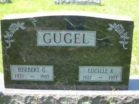 GUGEL, LUCILLE K. - Union County, Ohio | LUCILLE K. GUGEL - Ohio Gravestone Photos