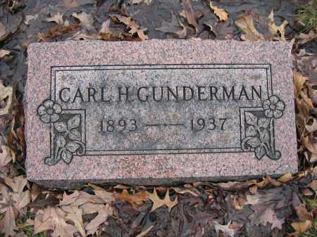 GUNDERMAN, CARL H. - Union County, Ohio   CARL H. GUNDERMAN - Ohio Gravestone Photos