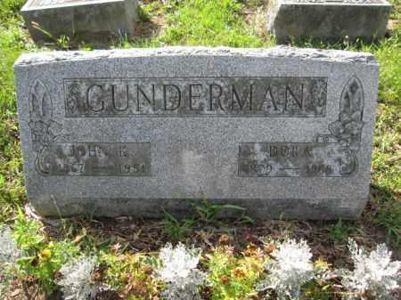 GUNDERMAN, JOHN K. - Union County, Ohio | JOHN K. GUNDERMAN - Ohio Gravestone Photos
