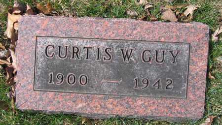 GUY, CURTIS W. - Union County, Ohio | CURTIS W. GUY - Ohio Gravestone Photos