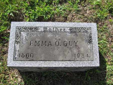 GUY, EMMA O. - Union County, Ohio | EMMA O. GUY - Ohio Gravestone Photos