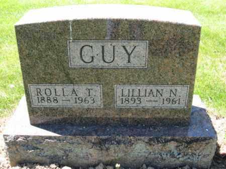 GUY, LILLIAN N. - Union County, Ohio | LILLIAN N. GUY - Ohio Gravestone Photos