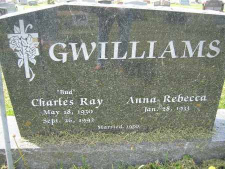 GWILLIAMS, CHARLES RAY - Union County, Ohio | CHARLES RAY GWILLIAMS - Ohio Gravestone Photos