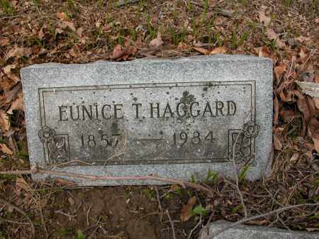 HAGGARD, EUNICE T. - Union County, Ohio | EUNICE T. HAGGARD - Ohio Gravestone Photos
