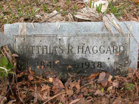HAGGARD, MATTHIAS R. - Union County, Ohio | MATTHIAS R. HAGGARD - Ohio Gravestone Photos
