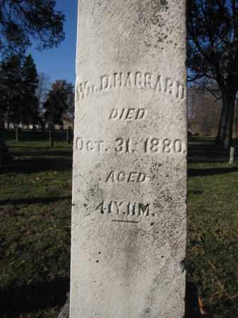 HAGGARD, WILLIAM D. - Union County, Ohio | WILLIAM D. HAGGARD - Ohio Gravestone Photos