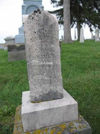 HAINES, AARON C. - Union County, Ohio   AARON C. HAINES - Ohio Gravestone Photos