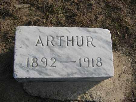 HAINES, ARTHUR - Union County, Ohio   ARTHUR HAINES - Ohio Gravestone Photos