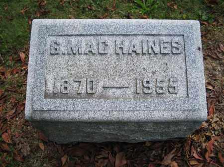 HAINES, GEORGE - Union County, Ohio | GEORGE HAINES - Ohio Gravestone Photos