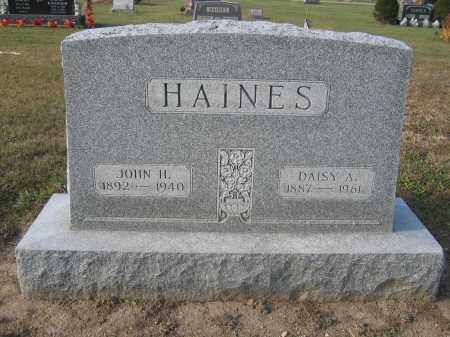 HAINES, JOHN H. - Union County, Ohio | JOHN H. HAINES - Ohio Gravestone Photos