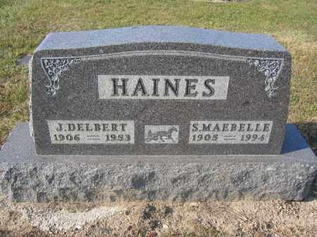 HAINES, J. DELBERT - Union County, Ohio   J. DELBERT HAINES - Ohio Gravestone Photos