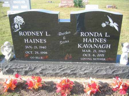 KAVANAGH, RONDA L. HAINES - Union County, Ohio | RONDA L. HAINES KAVANAGH - Ohio Gravestone Photos