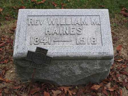 HAINES, WILLIAM - Union County, Ohio | WILLIAM HAINES - Ohio Gravestone Photos