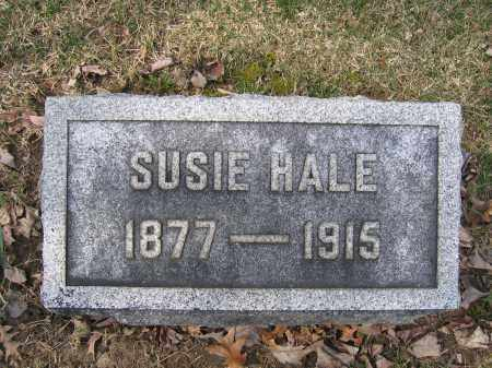 HALE, SUSIE - Union County, Ohio | SUSIE HALE - Ohio Gravestone Photos