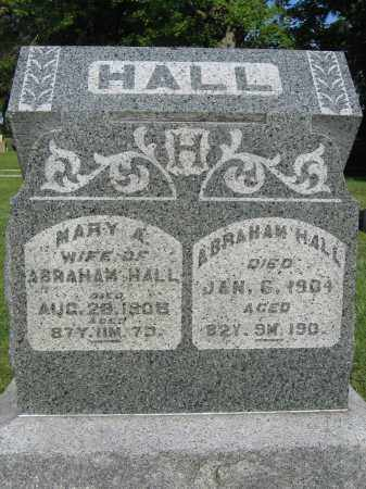 HALL, ABRAHAM - Union County, Ohio | ABRAHAM HALL - Ohio Gravestone Photos