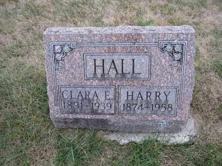 HALL, HARRY - Union County, Ohio | HARRY HALL - Ohio Gravestone Photos