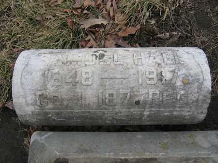 HALL, SAMUEL - Union County, Ohio | SAMUEL HALL - Ohio Gravestone Photos