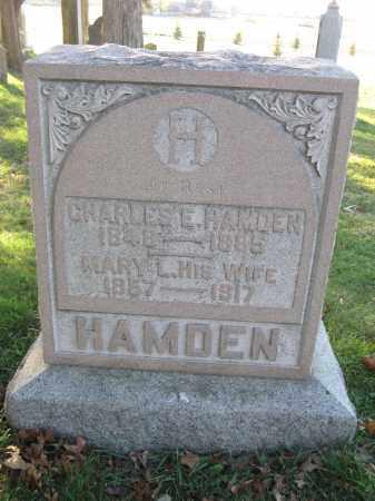 HAMDEN, CHARLES E. - Union County, Ohio | CHARLES E. HAMDEN - Ohio Gravestone Photos