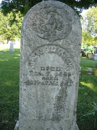 HAMILTON, B.M. - Union County, Ohio   B.M. HAMILTON - Ohio Gravestone Photos