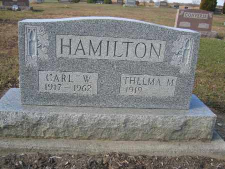 HAMILTON, CARL W. - Union County, Ohio | CARL W. HAMILTON - Ohio Gravestone Photos