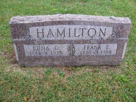 HAMILTON, EDNA C. - Union County, Ohio   EDNA C. HAMILTON - Ohio Gravestone Photos
