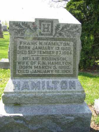 HAMILTON, NELLIE ROBINSON - Union County, Ohio   NELLIE ROBINSON HAMILTON - Ohio Gravestone Photos