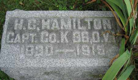 HAMILTON, H.C. - Union County, Ohio | H.C. HAMILTON - Ohio Gravestone Photos