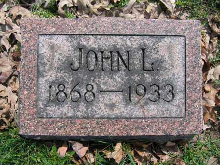 HAMILTON, JOHN L - Union County, Ohio   JOHN L HAMILTON - Ohio Gravestone Photos