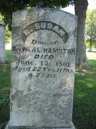 HAMILTON, R. SUSAN - Union County, Ohio | R. SUSAN HAMILTON - Ohio Gravestone Photos